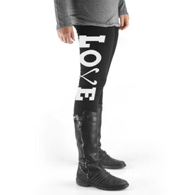Field Hockey High Print Leggings Love