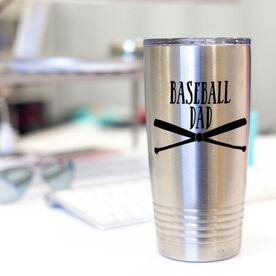 Baseball 20oz. Double Insulated Tumbler - Baseball Dad