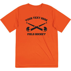 Field Hockey Short Sleeve Performance Tee - Custom Field Hockey