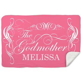 Sherpa Fleece Blanket - The Godmother