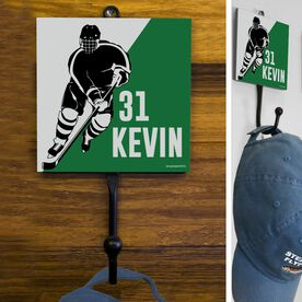Hockey Hook Personalized Hockey Player Silhouette
