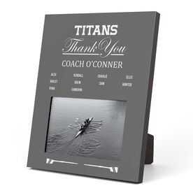 Crew Photo Frame - Thank You Coach Roster