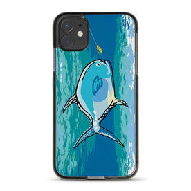Fly Fishing iPhone® Case - Permit On The Fly