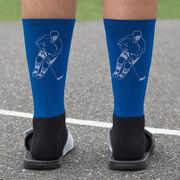 Hockey Printed Mid-Calf Socks - Player