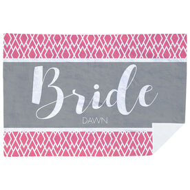 Personalized Premium Blanket - The Stylish Bride
