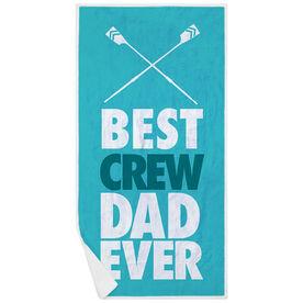 Crew Premium Beach Towel - Best Dad Ever
