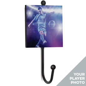 Soccer Medal Hook - Your Player Photo