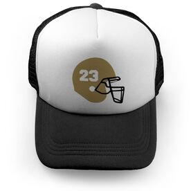 Football Trucker Hat - My Helmet
