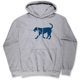 Hockey Standard Sweatshirt - Rocky The Hockey Dog