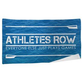 Crew Beach Towel Athletes Row