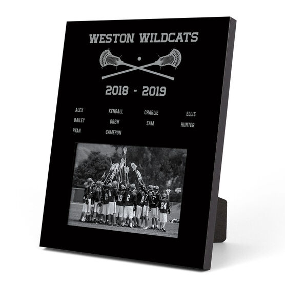 Guys Lacrosse Photo Frame - Team Roster