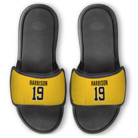 General Sports Repwell™ Slide Sandals - Name and Number