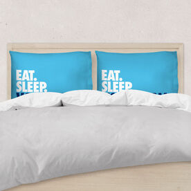 Volleyball Pillowcase - Eat. Sleep. Volleyball.