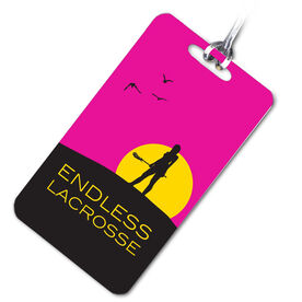 Lacrosse Bag/Luggage Tag Endless Lacrosse (Female)