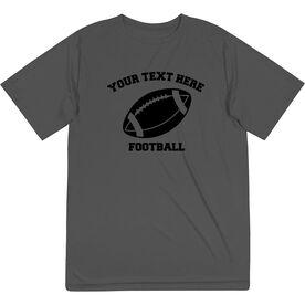 Football Short Sleeve Performance Tee - Custom Football