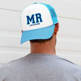 Personalized Trucker Hat - Mr. (Sporty)