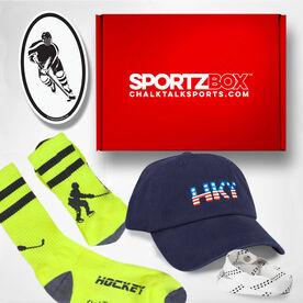 Hockey SportzBox Gift Set - Blue Line