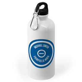 Wrestling 20 oz. Stainless Steel Water Bottle - Personalized Mat