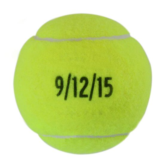 Custom Date Tennis Ball