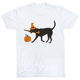 Field Hockey Short Sleeve T-Shirt - Witch Dog