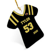 Football Ornament - Personalized Jersey