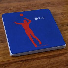 iPlay Volleyball - Stone Coaster