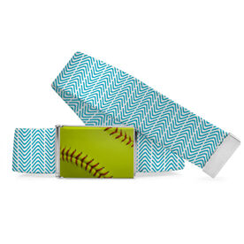 Softball Lifestyle Belt Softball Stitch Pattern