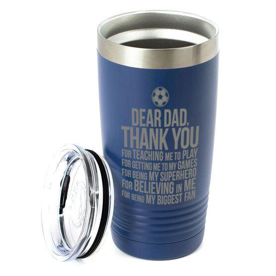 Soccer 20 oz. Double Insulated Tumbler - Dear Dad