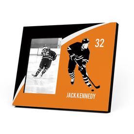 Hockey Photo Frame - Rink Turn Player