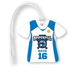 Softball Jersey Bag/Luggage Tag - Custom Team Logo