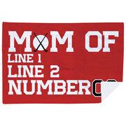 Field Hockey Premium Blanket - Personalized Field Hockey Mom