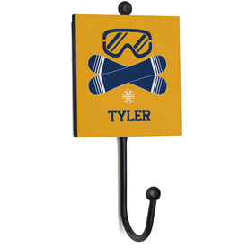Snowboarding Medal Hook - Snowboards With Name