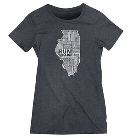 Women's Everyday Runners Tee Illinois State Runner
