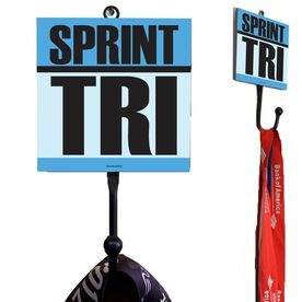 Sprint Tri Medal Hook