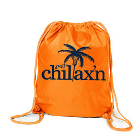 Lacrosse Sport Pack Cinch Sack Just Chillax'n