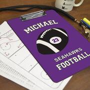 Football Custom Clipboard Personalized Football Team