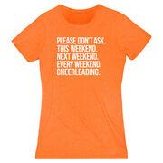 Cheerleading Women's Everyday Tee - All Weekend Cheerleading
