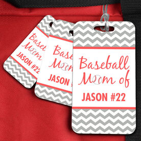 Baseball Bag/Luggage Tag Baseball Mom Of