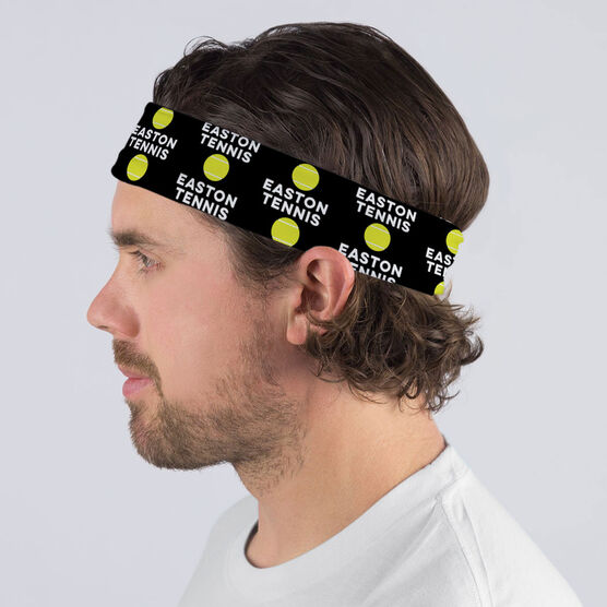 Tennis Multifunctional Headwear - Custom Team Name Repeat RokBAND