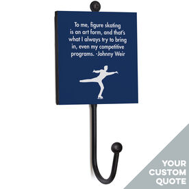Figure Skating Medal Hook - Your Male Quote