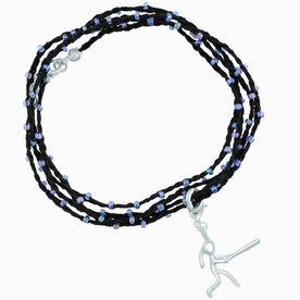 Softball Beaded Wrap Bracelet - Softball Girl