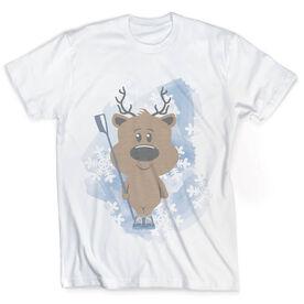 Vintage Crew T-Shirt - Reindeer Rower