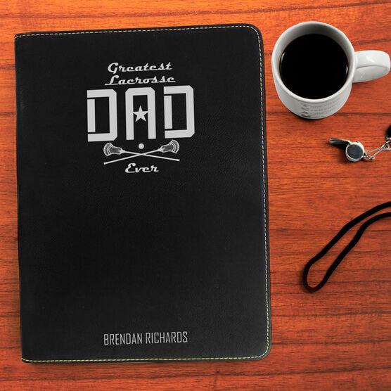 Guys Lacrosse Executive Portfolio - Greatest Dad Stripes