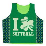 Softball Racerback Pinnie - I Shamrock Softball