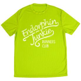 Men's Running Short Sleeve Tech Tee Run Club Endorphin Junkie