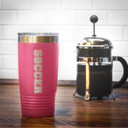Soccer 20 oz. Double Insulated Tumbler - Soccer
