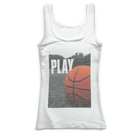 Basketball Vintage Fitted Tank Top - Play