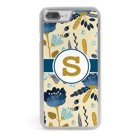 Personalized iPhone® Case - Monogram Garden