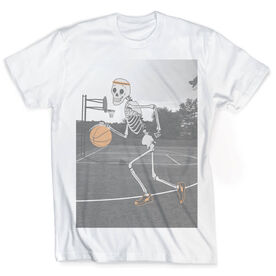 Vintage Basketball T-Shirt - Never Stop Playing