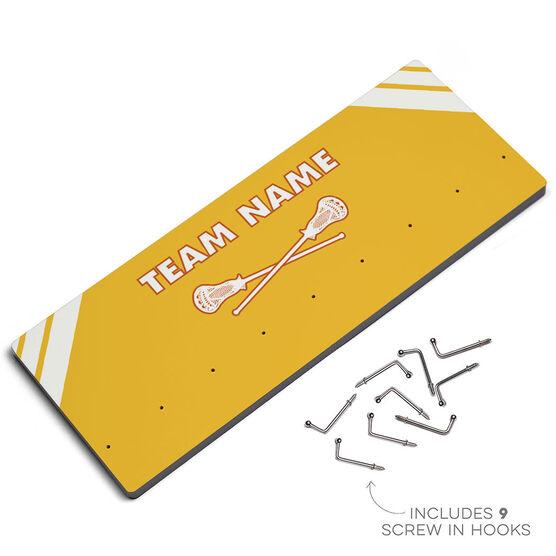 Lacrosse Hook Board Lacrosse Team Name
